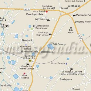 How To Reach Sambalpur